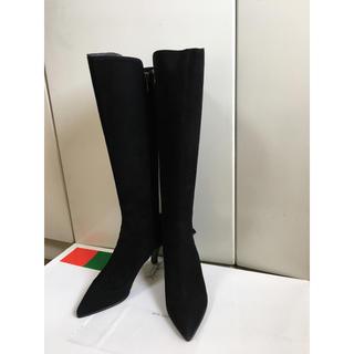 ギンザカネマツ(GINZA Kanematsu)のほぼ新品銀座カネマツブーツ黒(ブーツ)
