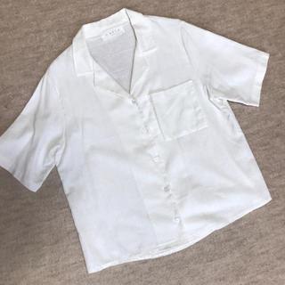 GOGOSING - ホワイト リネンシャツ 韓国ファッション