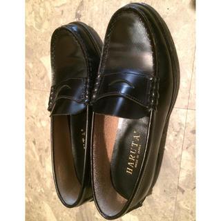 ハルタ(HARUTA)の23.5cm HARUTA 黒ローファー(ローファー/革靴)