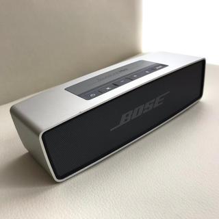 ボーズ(BOSE)のBOSE SoundLink Mini ブルートゥーススピーカー(ポータブルプレーヤー)