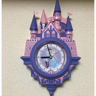 ディズニー(Disney)の激レア!早い者勝ち♡シンデレラ城♡掛け時計(掛時計/柱時計)