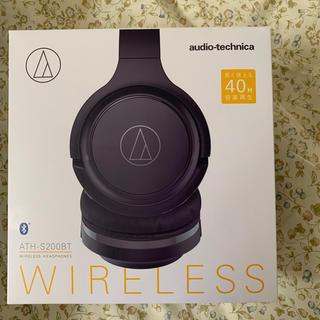 オーディオテクニカ(audio-technica)のオーディオテクニカ ワイヤレスヘッドフォン ATH-S200BT(ヘッドフォン/イヤフォン)