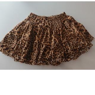 ジェニィ(JENNI)のジェニィJENNI ヒョウ柄スカート140(スカート)