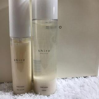 シロ(shiro)のshiro 酒かす化粧水 美容液(化粧水 / ローション)