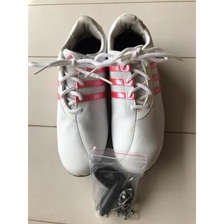 アディダス(adidas)のアディダス ゴルフシューズ レディース  23.5(シューズ)