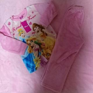 ディズニー(Disney)の新品・未使用品★ ふわもこ プリンセス ★ パジャマ(パジャマ)