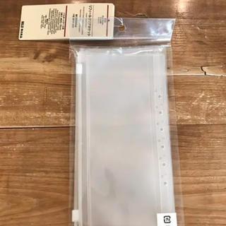 ムジルシリョウヒン(MUJI (無印良品))の無印良品 パスポートケース リフィル クリアポケット(ファイル/バインダー)