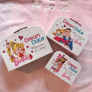 バービー(Barbie)のBarbie💗ペーパーBOXセット(ケース/ボックス)