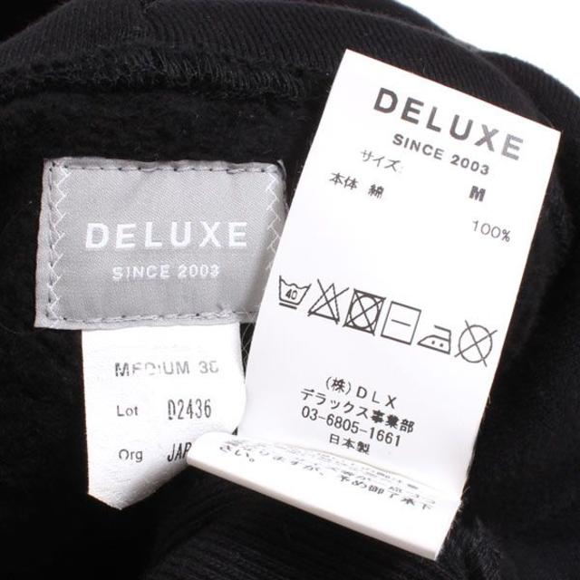 DELUXE(デラックス)の17AW DELUXE  HOODY パーカー 定価20,520円 sizeM  メンズのトップス(パーカー)の商品写真