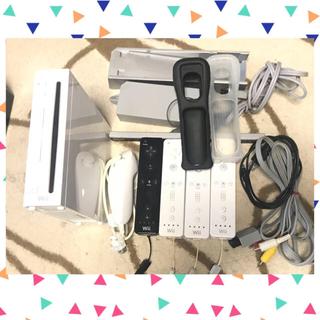 Wii - 値下げしました!!★美品★ wii 本体 ホワイト リモコン ヌンチャク