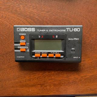 ボス(BOSS)のBOSS tuner & metronome(その他)