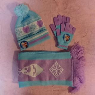 ディズニー(Disney)の新品・未使用品★ アナ雪 ★ マフラー / 手袋 / ニット帽(手袋)