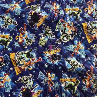 ディズニー(Disney)のトイストーリーキルト布♡105cm×50cm(生地/糸)