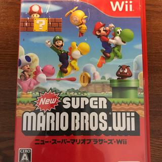 ウィー(Wii)のスーパーマリオ WiiとスーパーマリオメーカーWii U(家庭用ゲームソフト)