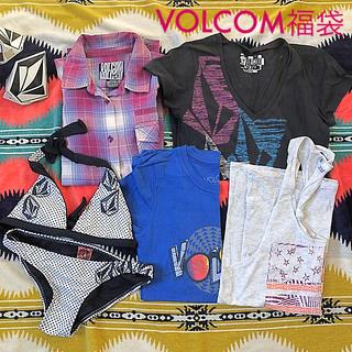 ボルコム(volcom)のVOLCOM福袋 ♡5点♡ Tシャツ タンクトップ チェックシャツ 水着 ♡ (シャツ/ブラウス(長袖/七分))