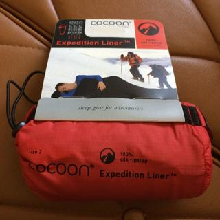 Cocoon Expedition Liner silk シルク size2(寝袋/寝具)