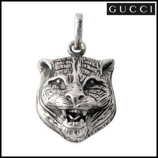 グッチ(Gucci)のグッチ GUCCI 455278-J8400 キャットヘッド シルバーチャーム(チャーム)