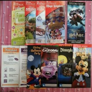 ディズニー(Disney)の日本語 ウォルトディズニーワールド WDW ガイド カリフォルニアディズニー(地図/旅行ガイド)