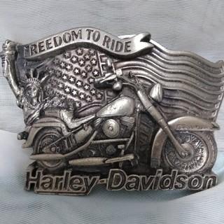 ハーレーダビッドソン(Harley Davidson)のHARLEY DAVIDSON バックル(ベルト)