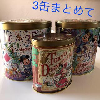 ディズニー(Disney)のディズニー35周年 チョコクランチ空き缶(その他)