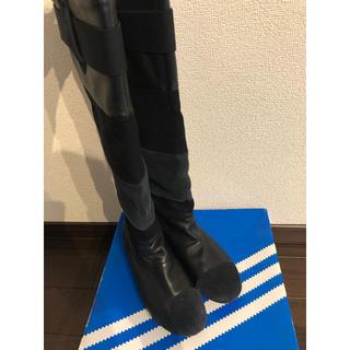 アディダス(adidas)のadidasロングブーツ EasyFiveBoot 23.5(ブーツ)