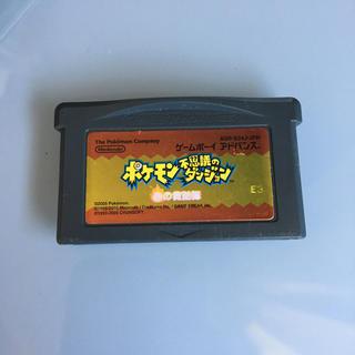 ポケモン(ポケモン)のポケモン不思議のダンジョン 赤の救助隊(携帯用ゲームソフト)