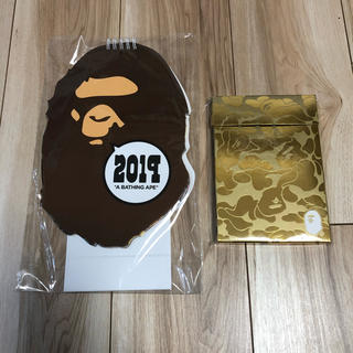 A BATHING APE - BAPE 2019年 カレンダー&ノベルティ a bathing ape