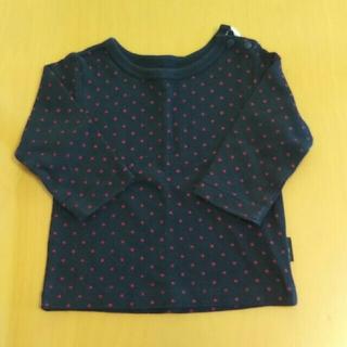 アンナニコラ(Anna Nicola)のアンナニコラ  Tシャツ ロンT 70  長袖 紺 ベビー(シャツ/カットソー)