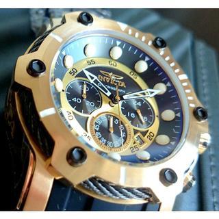インビクタ(INVICTA)の定価8.7万円 INVICTA インビクタ ボルト ブラック×ゴールド(腕時計(アナログ))