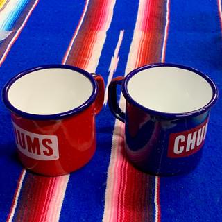 チャムス(CHUMS)の新品 CHUMS Enamel Cup チャムス ホーローカップ(食器)