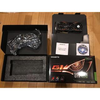 エイスース(ASUS)のGIGABYTE GTX 1070 G1 GAMINGグラフィクボード(PCパーツ)