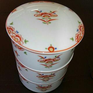 たち吉の食器 三段重(陶芸)