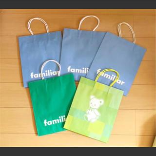 ファミリア familiarのショップ袋