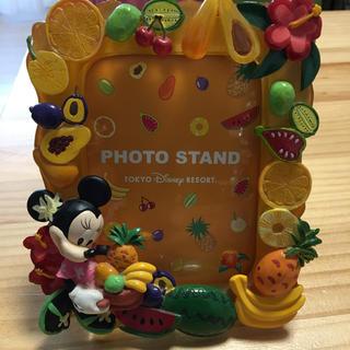 ディズニー(Disney)の写真たて ディズニーランド フルーツ(フォトフレーム)