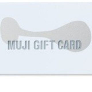 MUJI (無印良品) - 無印良品 ギフトカード 無印