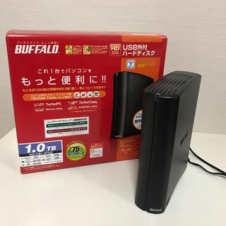 バッファロー(Buffalo)のバッファロー 外付け ハードディスク 1.0TB HD-CB1.0TU2(PC周辺機器)