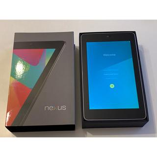 エイスース(ASUS)のNexus7 16GB 2012 (Wi-fi)(タブレット)