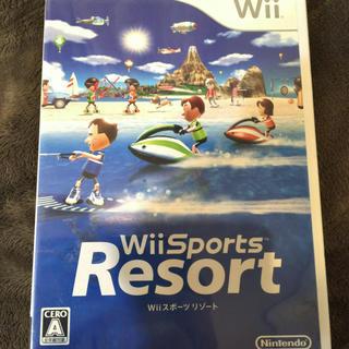 ウィー(Wii)のWiiソフト Wiiスポーツリゾート(家庭用ゲームソフト)