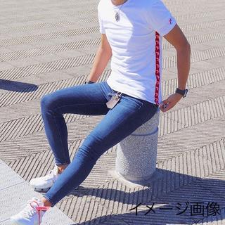 ジュンハシモト(junhashimoto)のスーパースキニーデニムパンツ AZ by junhashimoto(デニム/ジーンズ)
