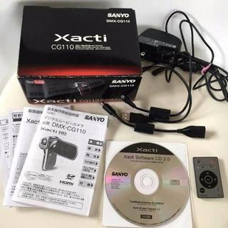 SANYO デジタルムービーカメラ Xacti CG110(ビデオカメラ)