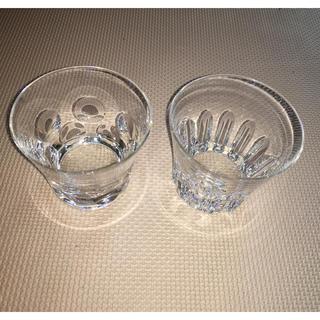 バカラ(Baccarat)のバカラのロックグラス2個セット(グラス/カップ)