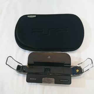 プレイステーションポータブル(PlayStation Portable)のPSP 充電 グレードルとPSPカバー(携帯用ゲーム本体)