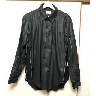 ジエダ(Jieda)のrocked garageサイドジップシャツ(シャツ)