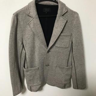 イーブス(YEVS)のイーブス YEVS 美品 綿ジャケット グレー 灰色 男性 メンズ(テーラードジャケット)