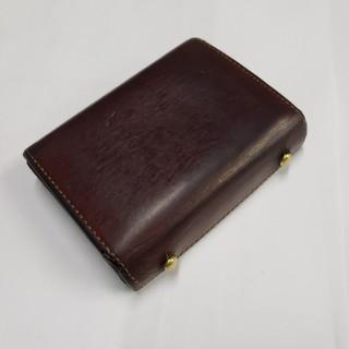 エムピウ(m+)のエムピウ ミッレフォッリエ p25 折り財布 極小財布 レザー(折り財布)