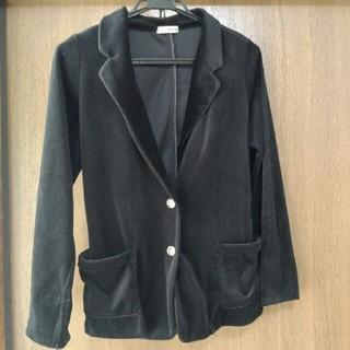 クレドソル(CLEF DE SOL)のテーラードジャケット ブラック(テーラードジャケット)