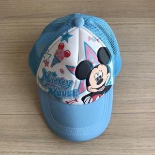 ディズニー(Disney)のディズニー ミッキー 帽子 ブルー(帽子)