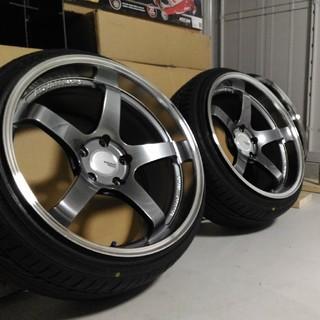 ADVAN Racing GT 19インチ 10J PCD120 BMW超美品(タイヤ・ホイールセット)