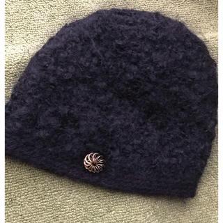 ミナペルホネン(mina perhonen)のhitomi shinoyama ニット帽(ニット帽/ビーニー)
