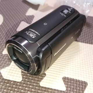 パナソニック(Panasonic)のPanasonic デジタルハイビジョンビデオカメラ ワイプ撮り W570M(ビデオカメラ)